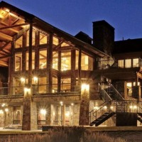 astonishing log home
