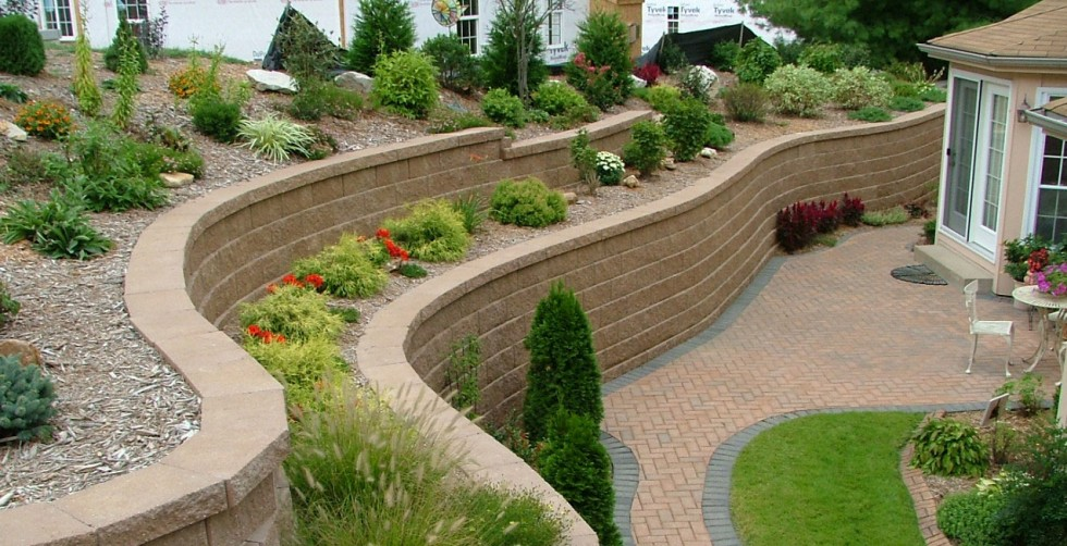 retaining wall design ideas - Retaining Wall Blocks Design