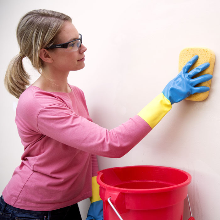 Washing Walls With Ammonia Before Painting