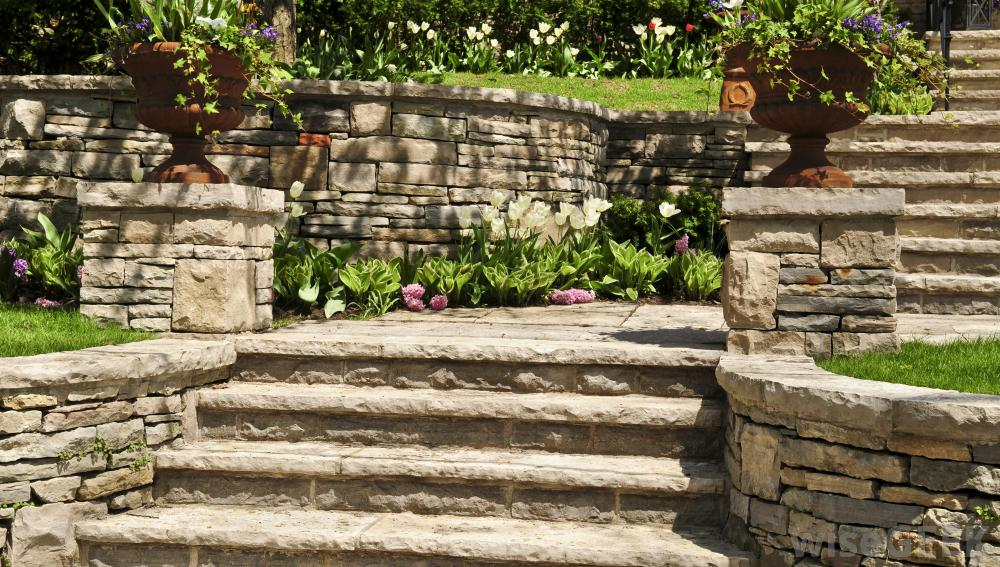 Granite Building Blocks : How to build a retaining wall hirerush