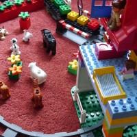 legos playroom organization