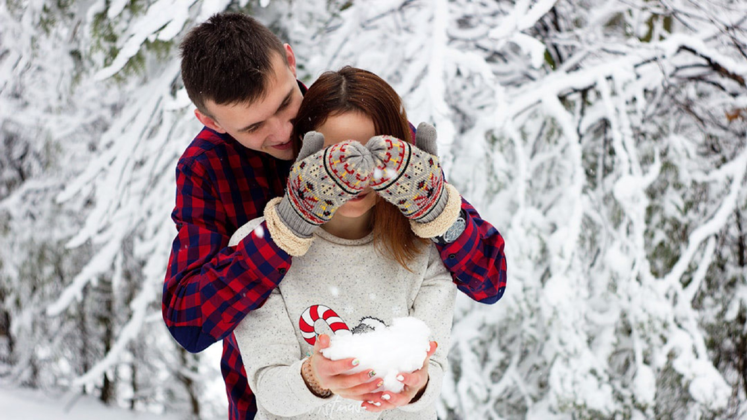 New Year couple