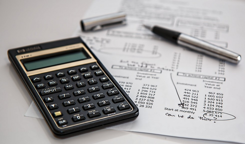 calculations and budget