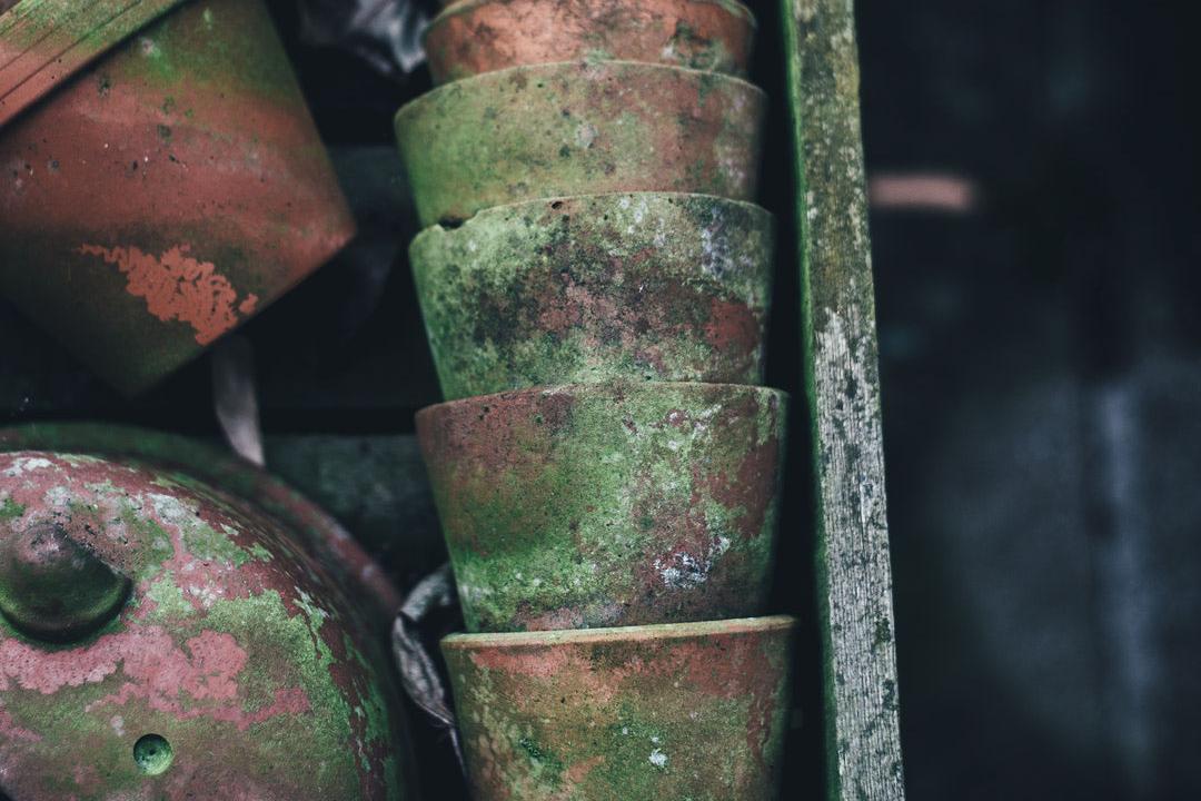 molded bow-pots