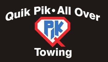 Logo Quik Pik - All Over Towing