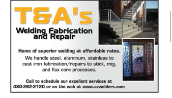 Logo T&A's Mobile Welding LLC