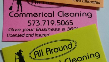 Logo All Around Commercial Cleaning
