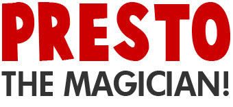Logo Presto the Magician