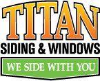 Logo Titan Siding, Windows and Exteriors