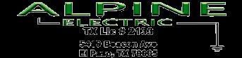 Logo Alpine Electric