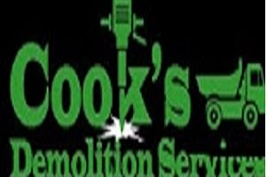 Logo Cook's Demolition Services