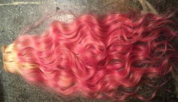 Logo Shimmering Hair Extensions