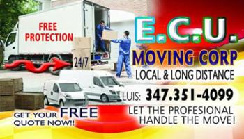 Logo ecu moving corp
