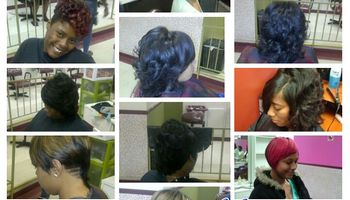 Logo Meridian Hair Salon