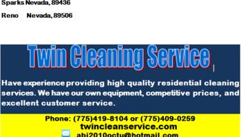 Logo Twin clean  service