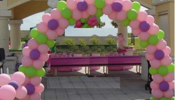 Balloons Arches, center pieces!
