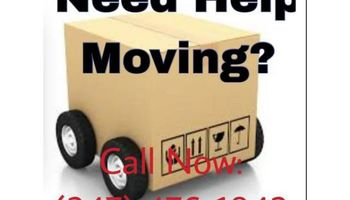 2 Movers with Cargo Van: Last Minute Call Ok