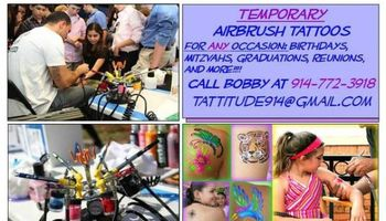 AIRBRUSH TATTOO PARTIES