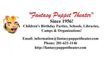 Puppet Shows with a personalized DVD for your next party or event!