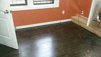 STAINING HARD WOOD FLOORS