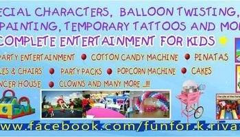 *** PARTY RENT *** TABLES - CHAIRS - BOUNCER - CANDY - POPCORN - ETC