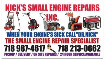 SMALL ENGINE REPAIRS