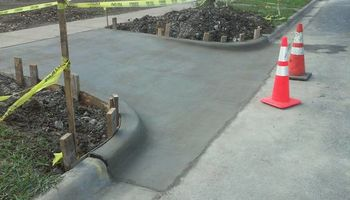 Quality Concrete Work such as driveways