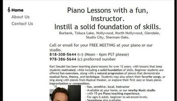 Piano Lessons in your home, Fun, 22yrs exp.