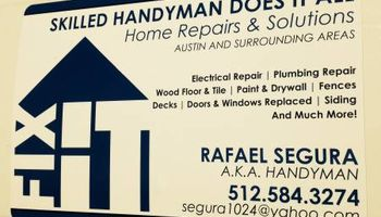 SKILLED HANDYMAN DOES IT ALL CLEAN & HONEST