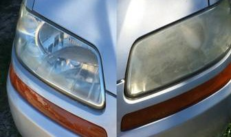 Mobile Headlight Restoration! Only $20!