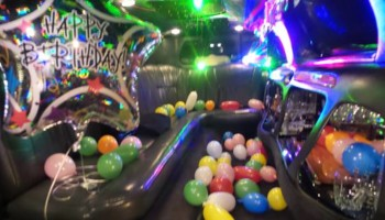 Try a birthday package in a limousine only $60 an hour!