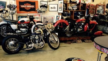 Motorcycle Repairs, Rebuilds, and Service - Jim at Garage Company