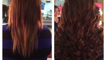 Add length, volume, and even color to your hair with hair extensions