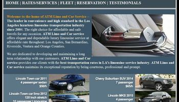 BEST Limousines - the BEST Prices! ATM Limo Service