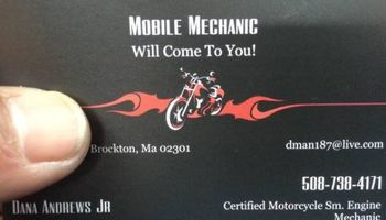 CERTIFIED MOTORCYCLE & SM. ENGINE MECHANIC (Will come to you)