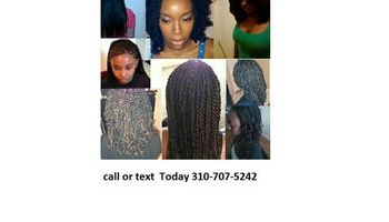 I CAN DO YOUR HAIR TODAY !!