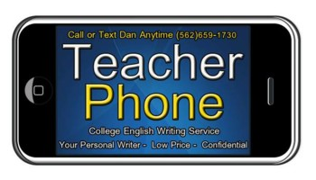 ESSAY WRITER at TEACHER PHONE Essay Writing Fast and Affordable