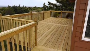 Decks & framing & carpentry