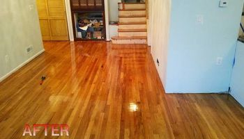 HARDWOOD FLOORINGS REFINISHED