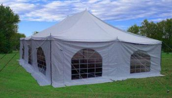 Beautiful 30'x20' Pole Tent for Weedings and Outdoor Events