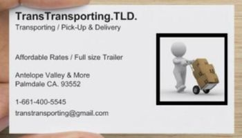 Transporting / Pick-Up&Delivery