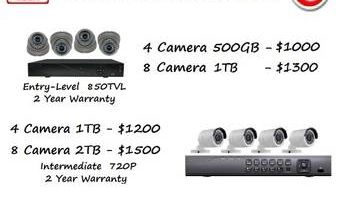 Security Camera Installation, Upgrade, and Service