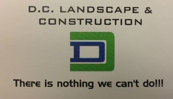 DC Landscape & Construction. We do masonry work