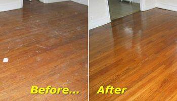 Hardwood Flooring Installation & Sanding