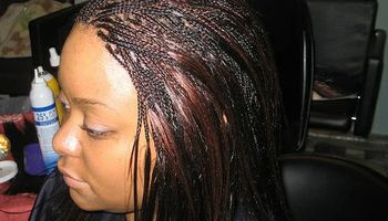 Hair specialists.  Senegalese/micro twist ...