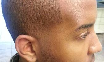 HAIRCUTS BY AT HOME BARBER/ WHO ALSO MAKES HOUSE CALLS