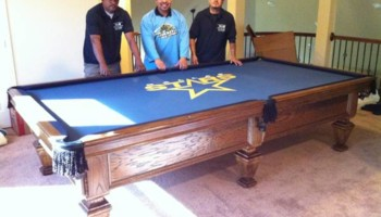 LONG DISTANCE POOL TABLE MOVING