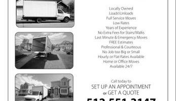 Let Us Help You Move | Capital Movers | 5 Star Movers