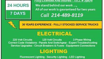 Electrical Wiring - FREE ESTIMATES