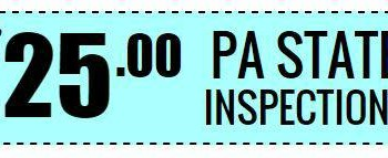 Motorcycle PA State Inspections & Service